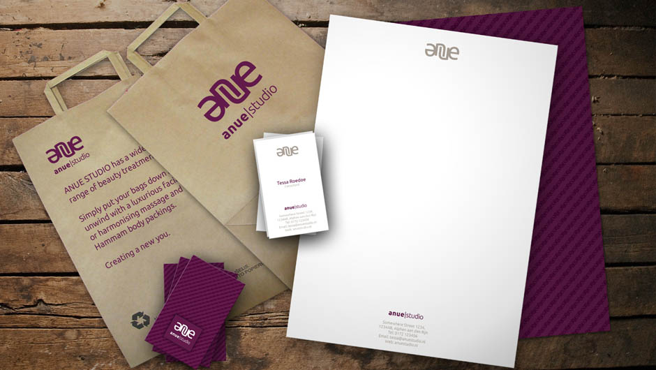 Anue stationery